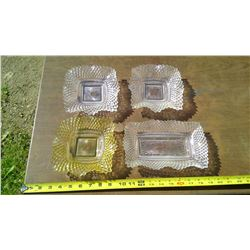 SQUARE CANDY DISHES
