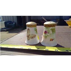 NIPPON HAND-PAINTED SALT AND PEPPER SHAKERS