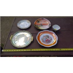 HAND PAINTED NIPPON, BAVARIA, AND 1 PIECE OF NORITAKE