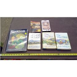 BOOKS AND A VHS TAPE