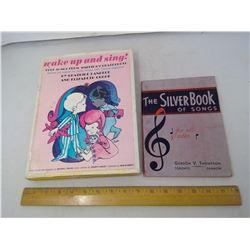 2 CHILDREN'S SONG BOOKS