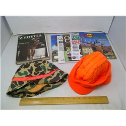 HUNTING PACKAGE - HATS AND BOOKS
