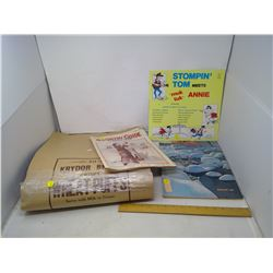 COUNTRY GUIDE - 1937/1957, LARGE PAPER BAGS, STOMPIN' TOM RECORD