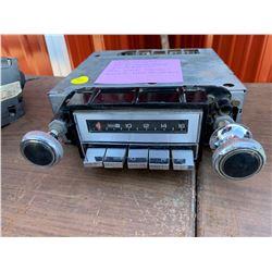 1977 CHEVROLET BEL AIR IMPALA, CAPRICE AM PB RADIO 12V - DELCO 70BPB1 (9345940?)