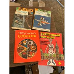 YOUNG PEOPLE'S SCIENCE ENCYCLOPEDIAS, COOKBOOK, PAPER DOLL DRESS-UP BOOK