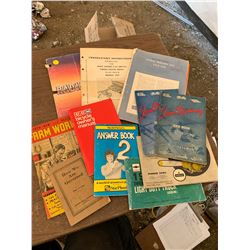 MISC. MANUAL BOOKLETS
