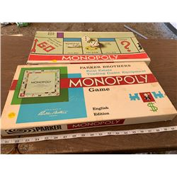 2 COMPLETE MONOPOLY BOARD GAMES