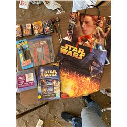 STAR WARS PUZZLES, CARDS, PENS, ETC.