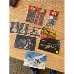 STAR WARS MAGNETS AND COLLECTOR CARDS