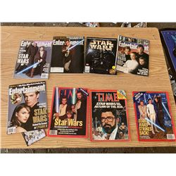 TIME AND ENTERTAINMENT STAR WARS MAGAZINES