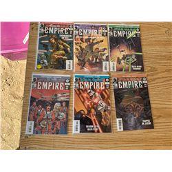 STAR WARS EMPIRE COMICS #6,10-13,33