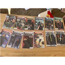 STAR WARS REBELLION COMICS #6-16