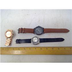 3 Quartz Watches