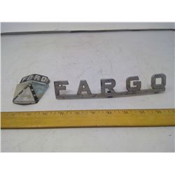 Fargo and Ford Hood Ornaments