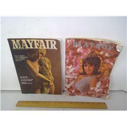 Playboy 1967/Mayfair Magazines