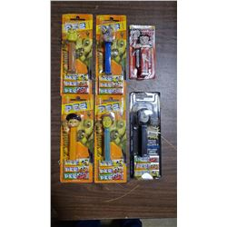 SHREK2, STAR WARS (SEALED) PEZ DISPENSERS
