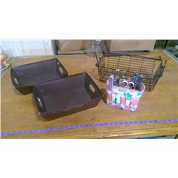Personal Grooming Set and Hanging Basket