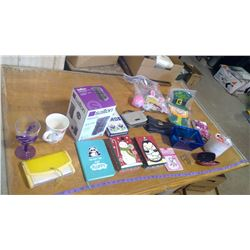 Easter Decorations and Large Assortment of Miscellaneous Items