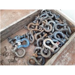 "1537___50+/- --3/4"" shackles"