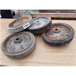 "1551___4 -- 8"" wheels"