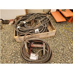 1558A___multiple heavy duty electric cables (pallet)
