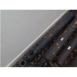 """1559___1 -- hydraulic cylinder 4 1/2"""" OD x 53"""" long"""