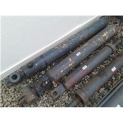 """1560___1 -- hydraulic cylinder 4 1/2"""" OD x 53"""" long"""