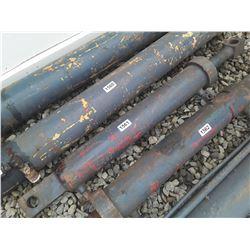 """1561___1 -- hydraulic cylinder 4 1/2"""" OD x 40"""" long"""