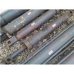 """1562___1 -- hydraulic cylinder 4 1/2"""" OD x 40"""" long"""