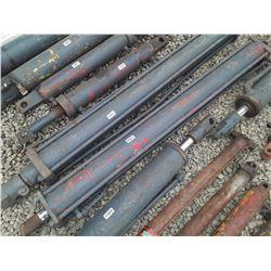 """1564___1 -- hydraulic cylinder 4 1/2"""" OD x 75"""" long"""
