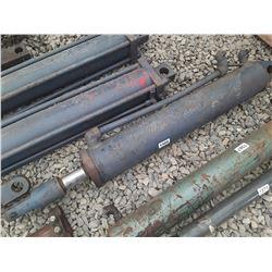 """1566___1 -- hydraulic cylinder 4 1/2"""" OD x 44"""" long"""