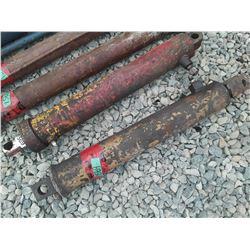 """1569___2 -- hydraulic cylinder 3 1/2"""" x 24"""" long"""