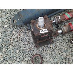 """1570___1 -- hydraulic cylinder 4"""" x 6"""" heavy duty"""