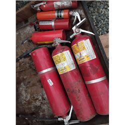1579___7 --fire extinguishers (3 lg. & f small)