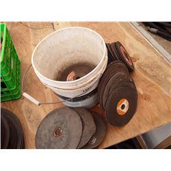 1588___1 -- steel cutting blades (pail)