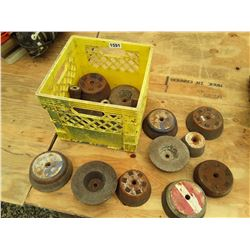 1591___1 -- grinding cup wheels (yellow crate)