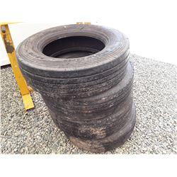 "1598___4 -- 19.5"" motorhome tires 245 70R load range G    less than 50,000 km"