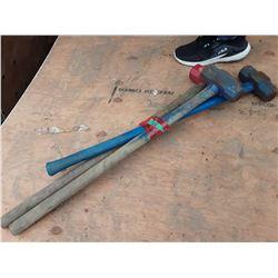 1618___3 -- 8 lb. sledge hammers