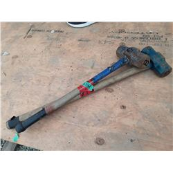 1618A___2 -- 8 lb. sledge hammers