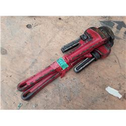 """1622___2 -- 18"""" pipe wrenches"""