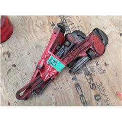 """1624___2 -- 10"""" pipe wrenches"""