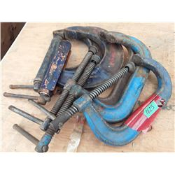 """1625___5 -- 6"""" C-clamps"""