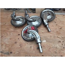 """1649___4 -- 8"""" Casters"""