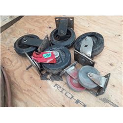 """1651___2 -- 4- 6"""" Casters   2 - 4"""" Casters"""