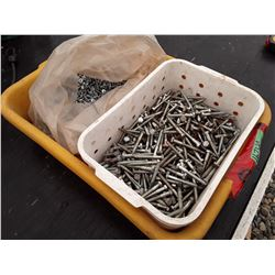 1674a___Tote of Assorted Screws and Bolts 2   3/4  ,  1    3/8