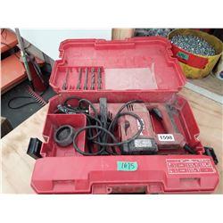 1675___1 -- Hilti TE24 concrete drill & ast. Drill bits