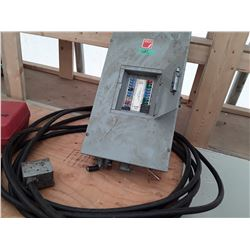 1682___1 -- 100 amp 240 V AC 3 phase 4 wire Inc Cable