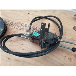 1687___1 -- set of 2 hydraulic valve systems