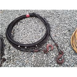 1719___50' +/- HD Steel Calble with Hooks