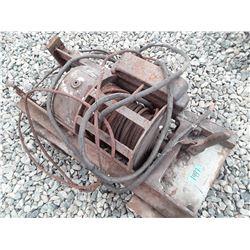 1497 - Large Battery Operated tulsa Winch